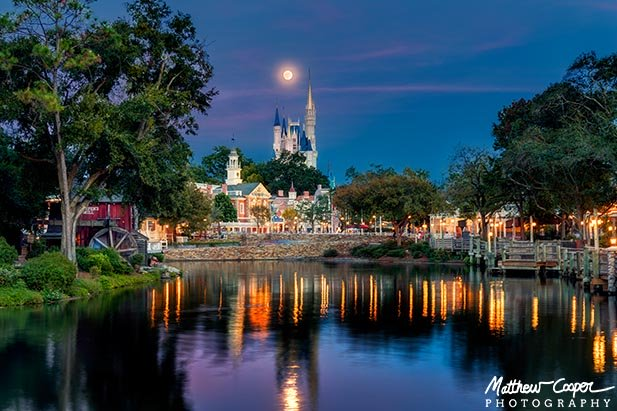Liberty Square is a beautiful backdrop for Cinderella Castle