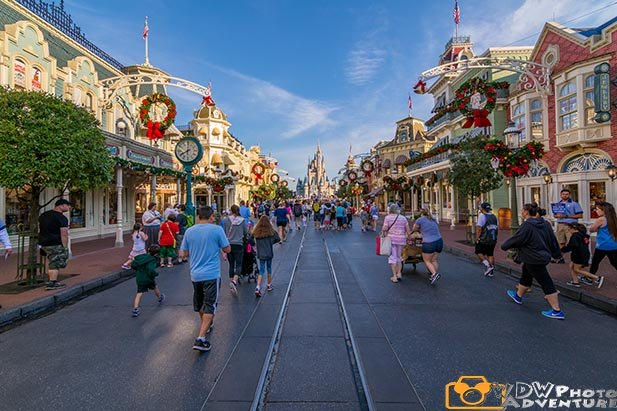 Main Street USA is the opening act at Magic Kingdom
