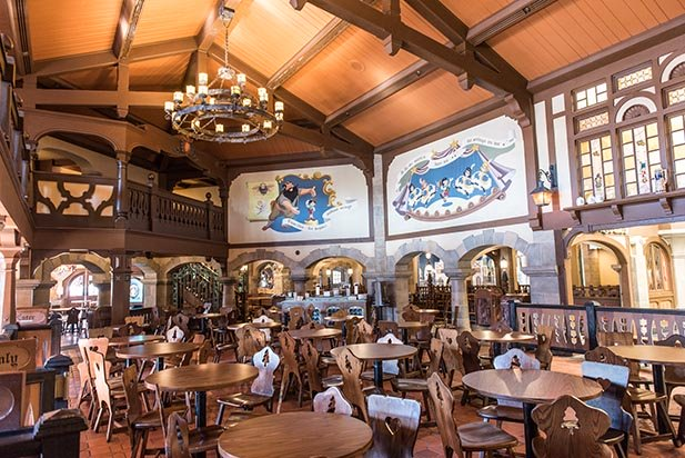 Pinocchio Village Haus offers something more than a hamburger ot hot dog