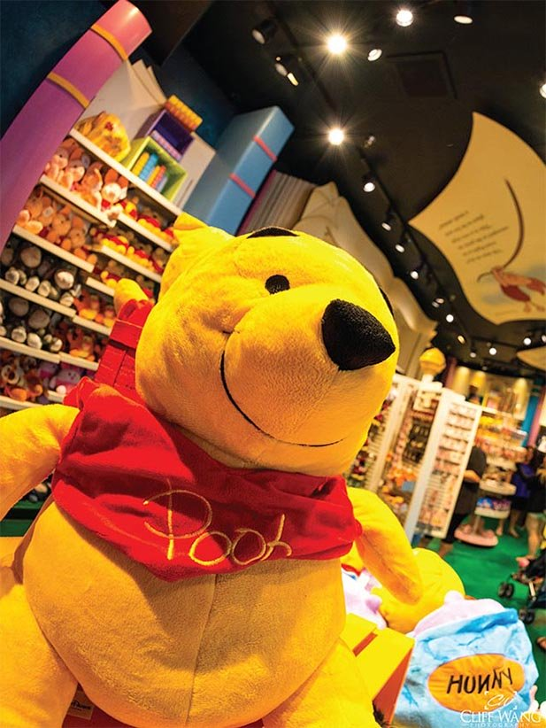 Winnie the Pooh is overweight and loves honey