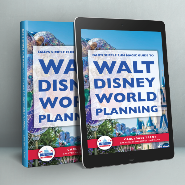 Dad's Simple Fun Magic Guide to Walt Disney World Planning is the perfect guide for first time planners