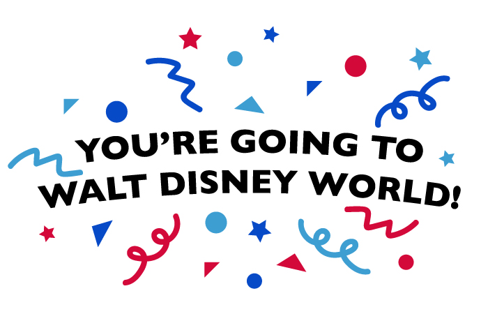 Dad's You're going to Walt Disney World graphic
