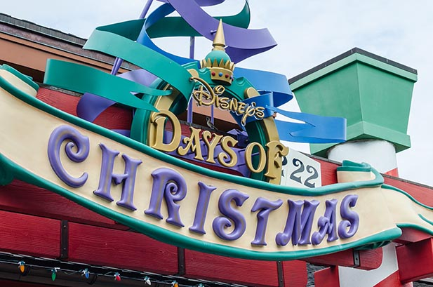 Disney Days of Christmas at Disney Springs