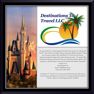 Destinations to Travel ad