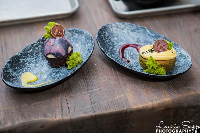 The desserts from Docking Bay 7 at Star Wars: Galaxy's Edge