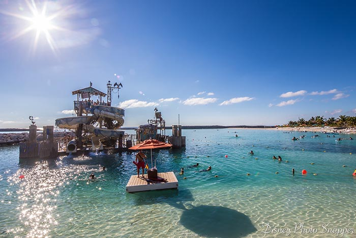 Castaway Cay is a beautiful place to relax on a Disney Land and Sea Adventure