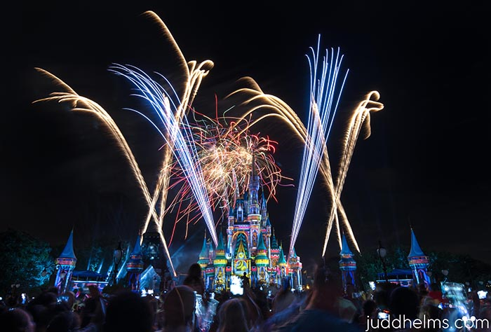 Happily Ever After Fireworks on Main Street USA