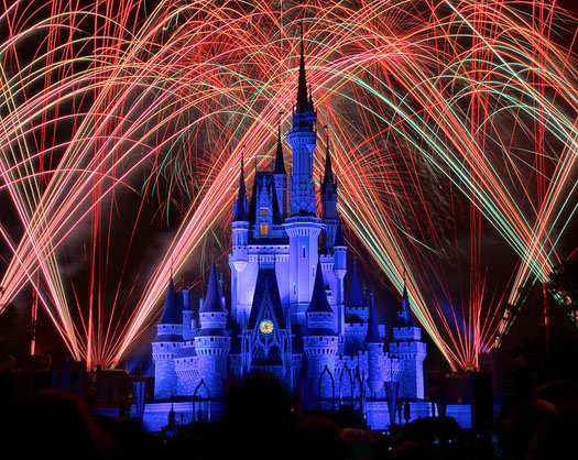 WIshes - Dad's version of partying at Disney World