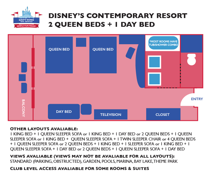 Disney Disney S Contemporary Resort One Of The Top Disney World