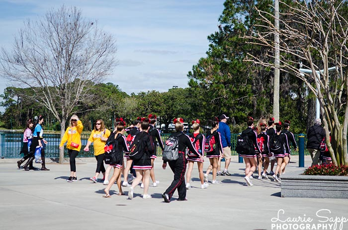 Are cheerleaders why the 2020 Disney World crowd calendars are wrong?