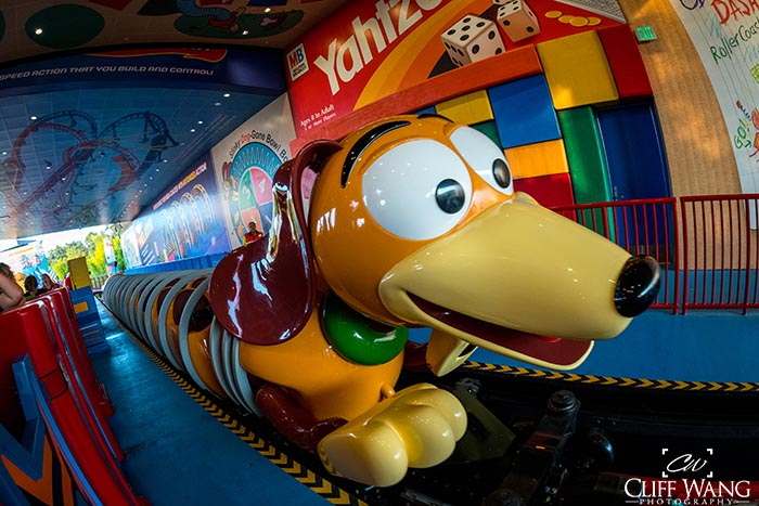 Slinky Dog Dash is certainly a contender for favorite ride at Disney World