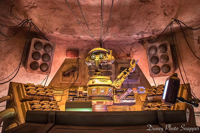 RX-3 is the DJ in Oga's Cantina, he keeps things hopping