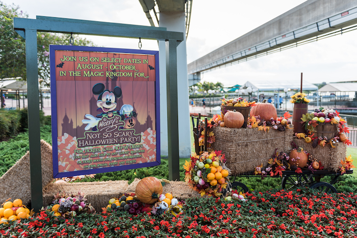 Sign to Mickey's Not So Scary Halloween Party