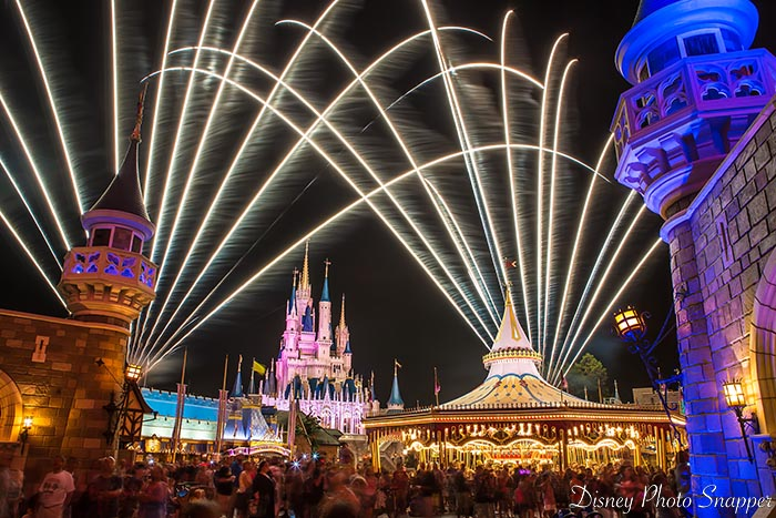Fireworks over Cinderella Castle can be the answer to questions about a Disney World trip