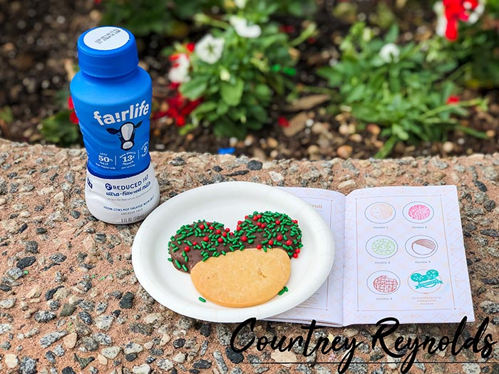 The Mickey Cookie on the Festival of the Holidays Cookie Stroll would be a great snack if you add free dining to your package
