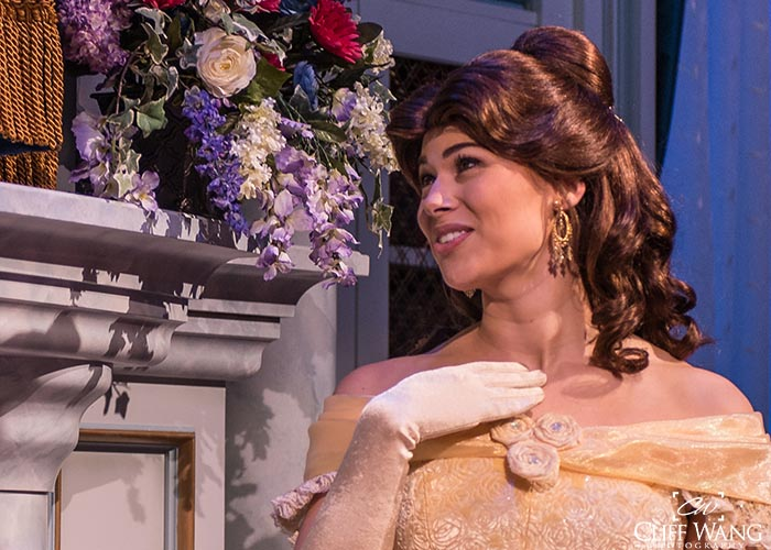 Belle looks radiant in Tales with Belle in Fantasyland