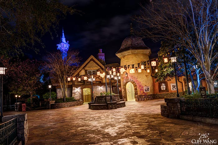 The Tangled area in Fantasyland